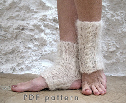 yoga sock pdf knitting pattern