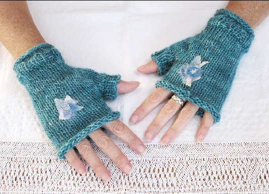 handmade with love gloves